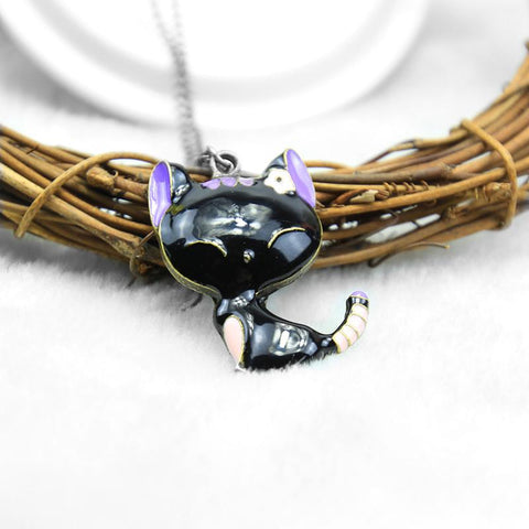 Kitten Animal Cat Jewelry Set