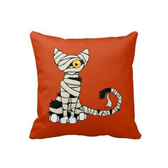 Mummy Cat Pillow Cover