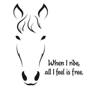 Horse Quote Wall Sticker