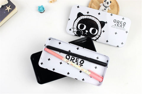 Image of Cat Pencil Case - I Love Cat Socks