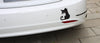Scary Cat Car Decal