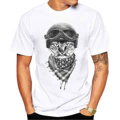 Cat Design For Men Shirt