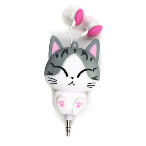 Cute Cat Earphones - I Love Cat Socks