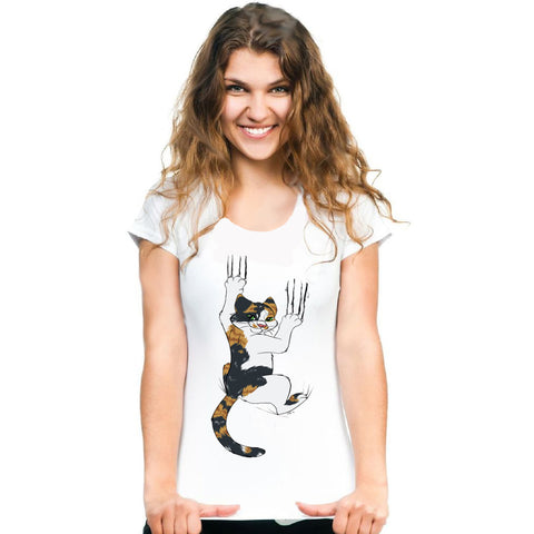 Calico Cat Claws T-shirt