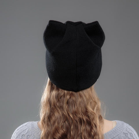Image of Autumn Winter Cat Beanie - I Love Cat Socks