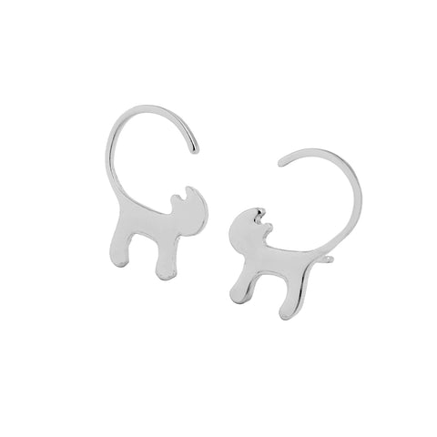 Long tail Cat Earrings