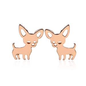Small Chihuahua Earrings