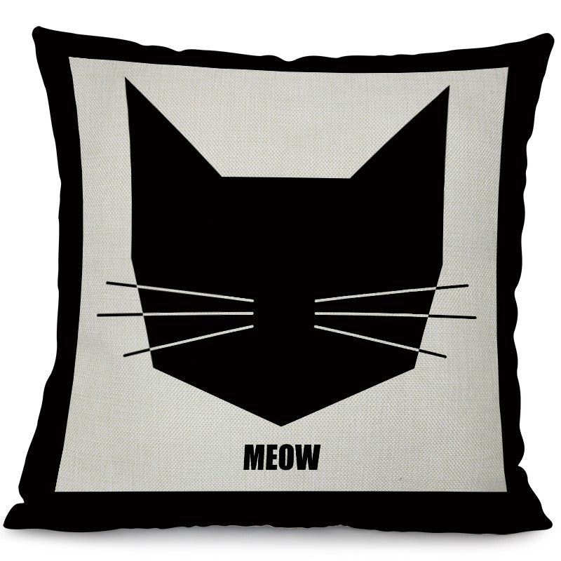 Climbing Cat Animals Pillow Case - I Love Cat Socks