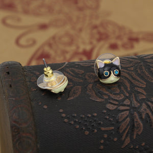 Pretty Small Cats Earring