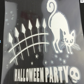 Party Cat Car Decal