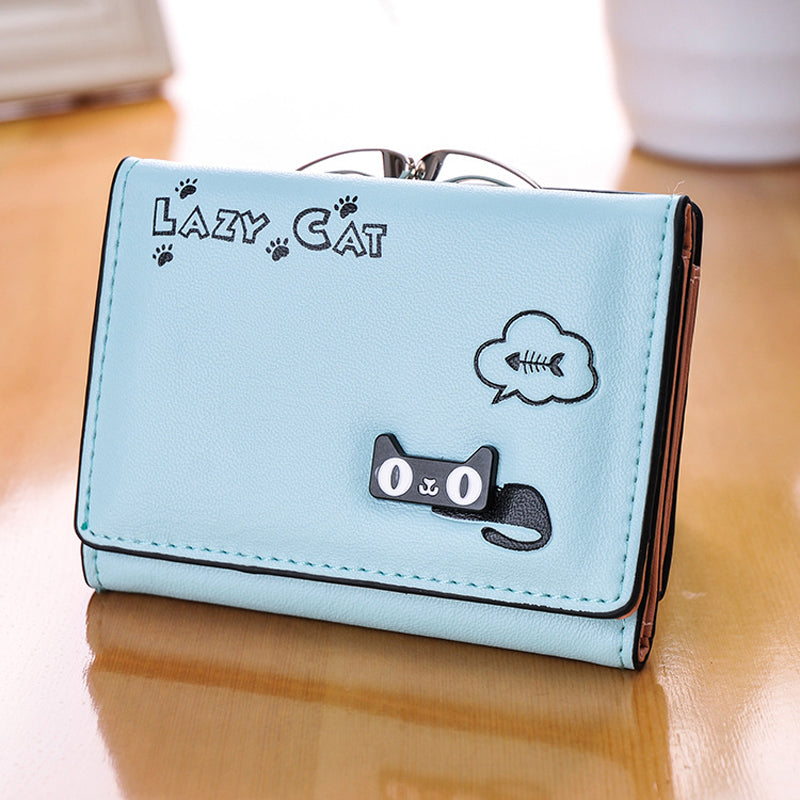 Cat Anime Wallet - I Love Cat Socks