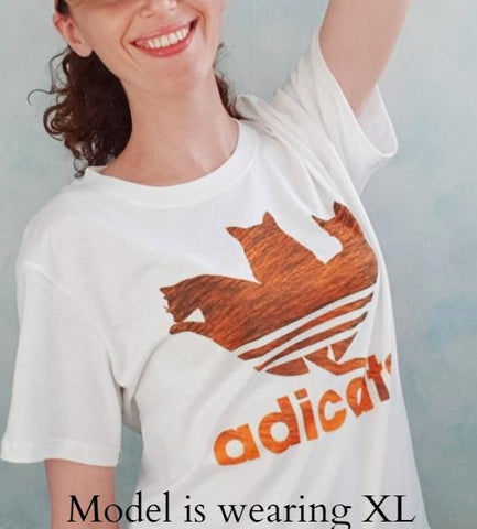 Image of AdiCATS Funny T-shirt - I Love Cat Socks