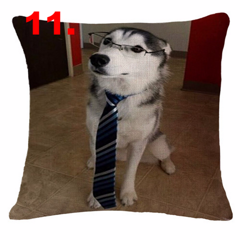 Cute Siberian Husky Pillow Cases - I Love Cat Socks