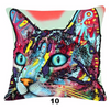 Collectible Cat Painting- Like Pillow Cover