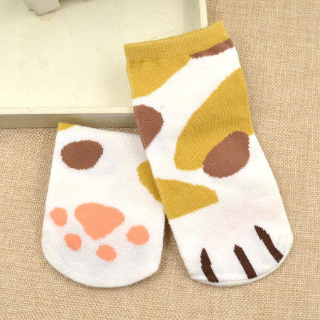 Cat Claw Cartoon Socks - I Love Cat Socks