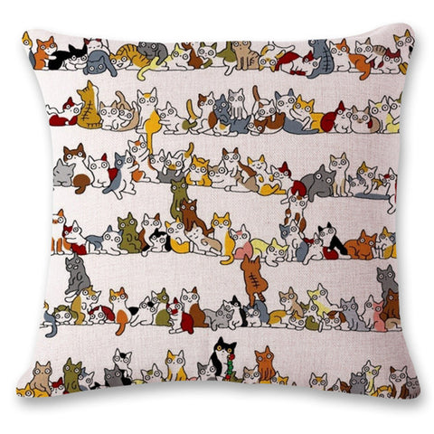 Image of Cat Universe Pillow Cases - I Love Cat Socks
