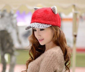 Women's Soft Cat Ears Baseball Cap - Save Over 60% Today - I Love Cat Socks - 7