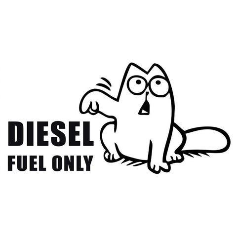 Simon's Cat  Funny Humor Vinyl Car Decal