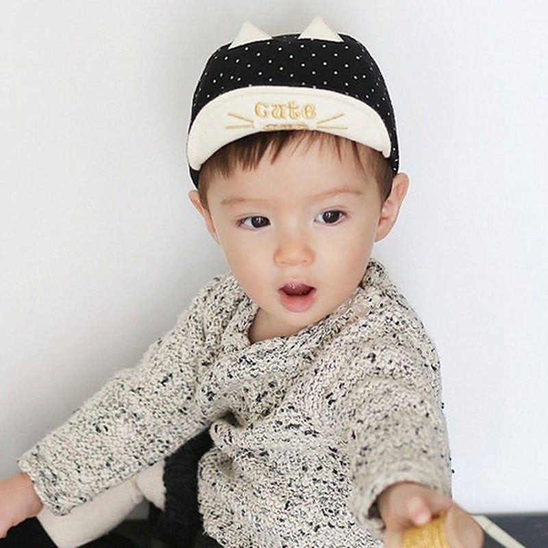 Cat Ears Toddler Cap