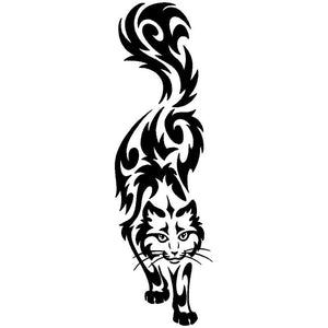 Siberian Cat Car Decal