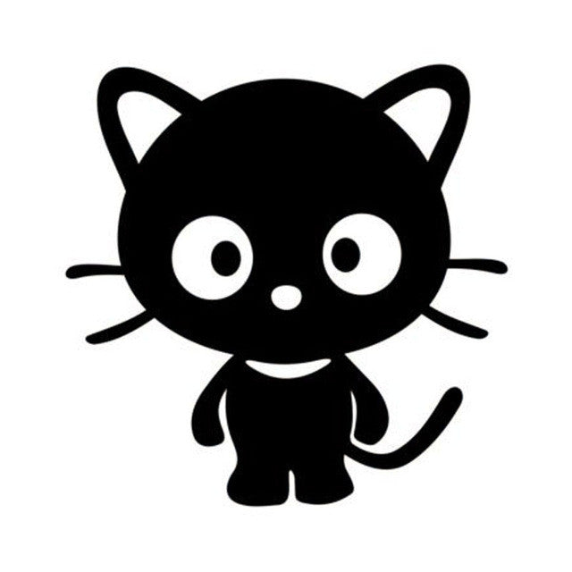 Cute Kitten Car Decal - I Love Cat Socks