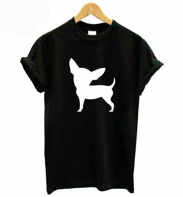 Chihuahua Dog Printed T- Shirt