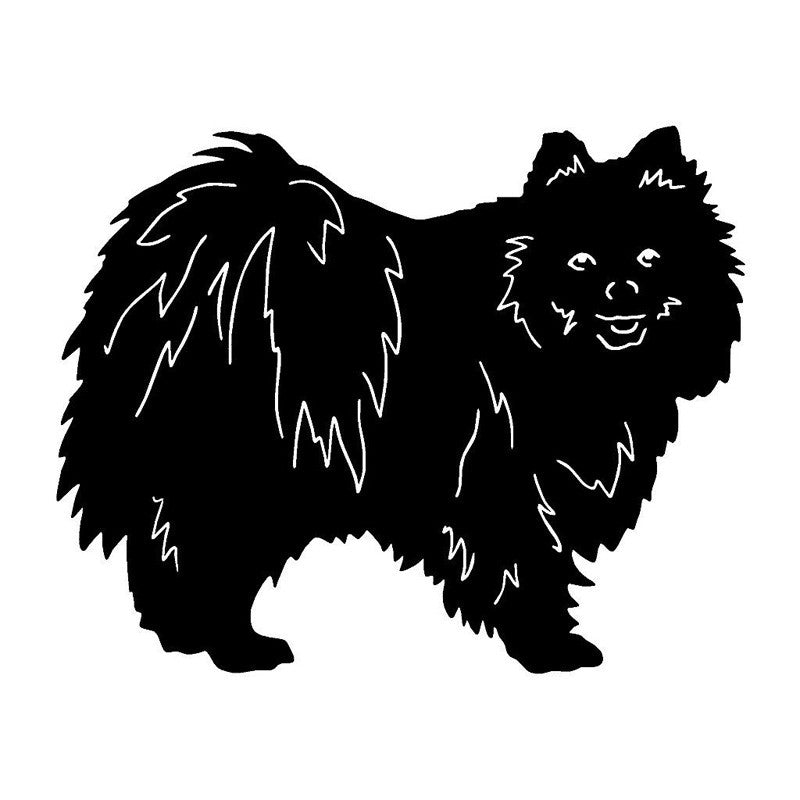 Pomeranian Car Decal