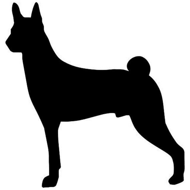 Basenji Dog Lovely Car Decal