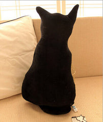 Cat Back Soft Plush Pillow