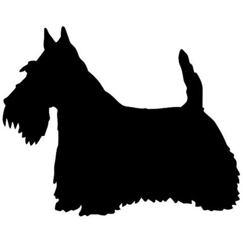 Scottish Terrier Car Decal