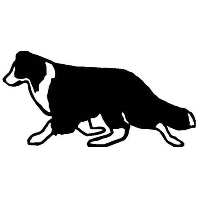 Border Collie Walking Car Decal - I Love Cat Socks