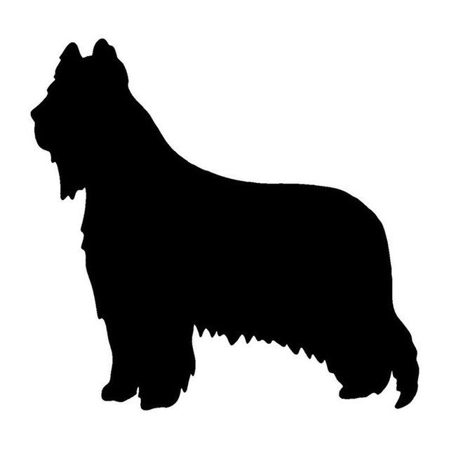 Briard Dog Car Decal