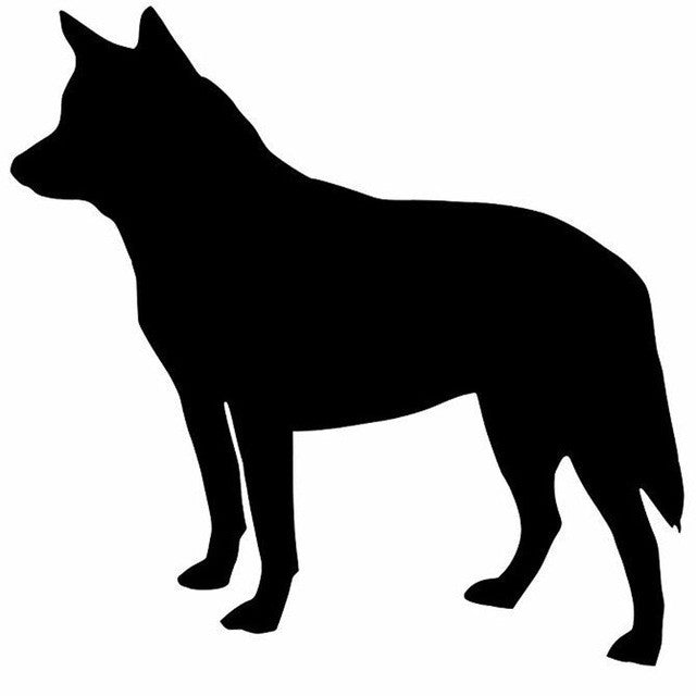 Australian Cattle Dog Car Stickers
