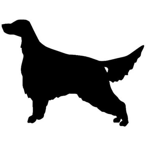 Image of Irish Setter Dog Car Decal