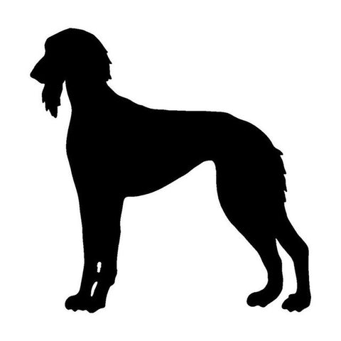 Saluki Dog Car Decal