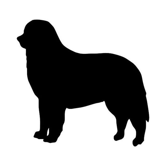 Bernese Mountain Dog Car Sticker