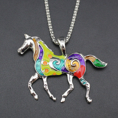 Image of Running Horse Pendant