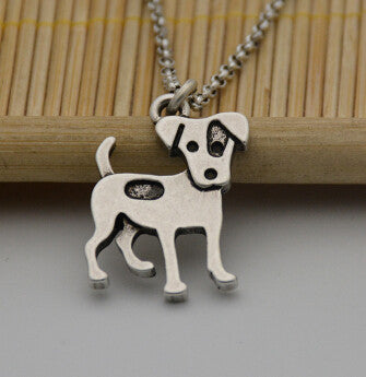 Vintage Jack Russell Terrier Necklace