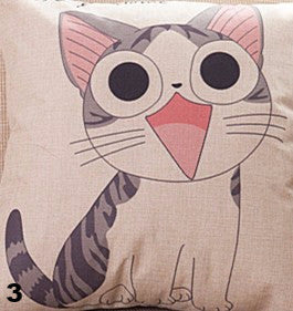 Image of Happy Cat Pillows - I Love Cat Socks - 4