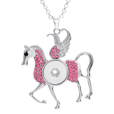 Sparkling Horse Necklace