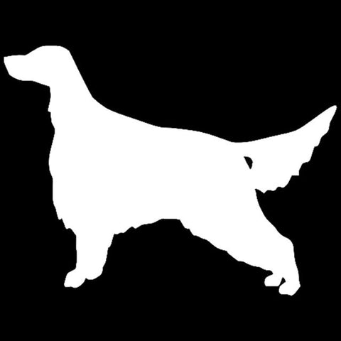 Irish Setter Dog Car Decal