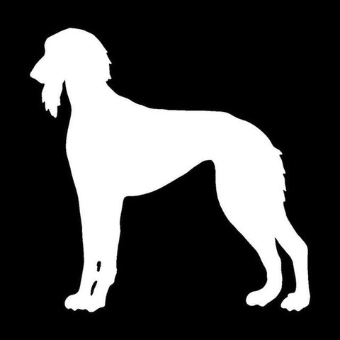 Image of Saluki Dog Car Decal
