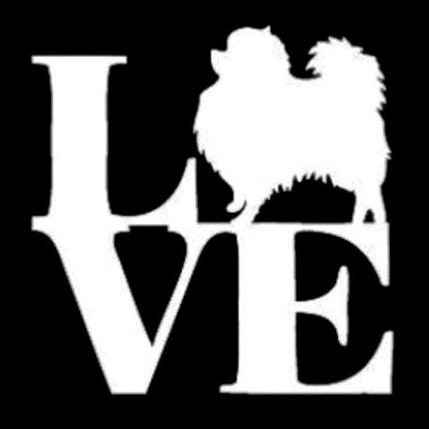 Image of Love Pompom Car Decal