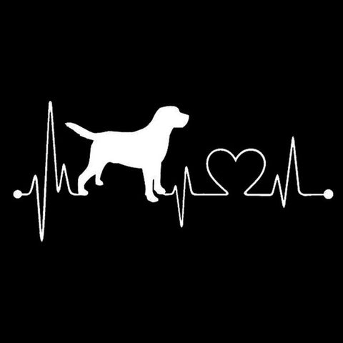 Labrador Lifeline Car Decal