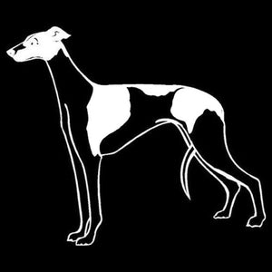 Greyhound Dog Classic Car Decal