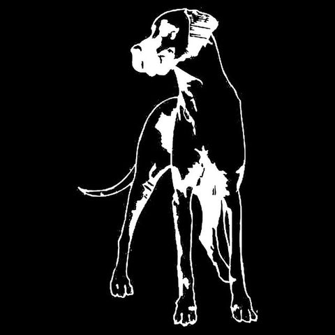 Image of Side Great Dane Car Decal