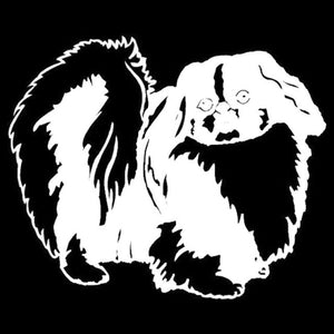 Pekingese Car Decal