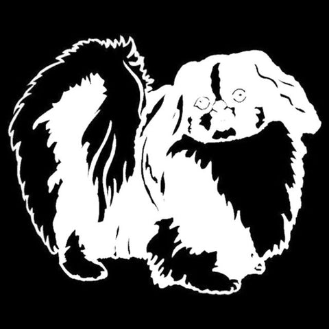 Image of Pekingese Car Decal