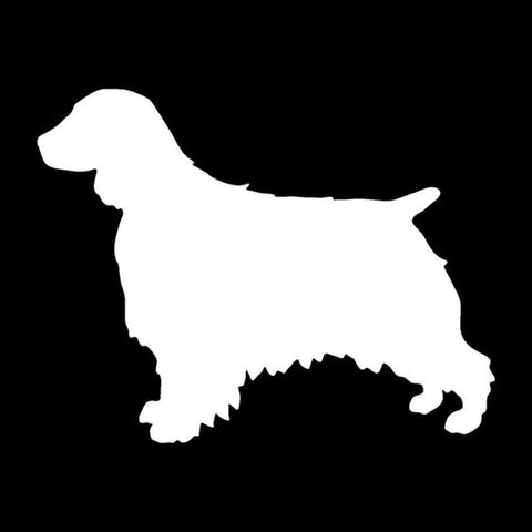 Welsh Springer Spaniel Car Decal