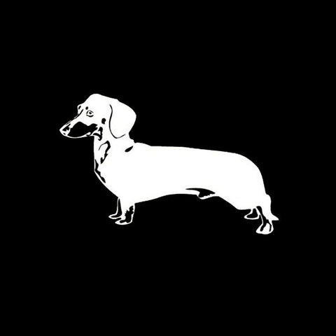 Image of Super Cute Dachshund Dog  Decal